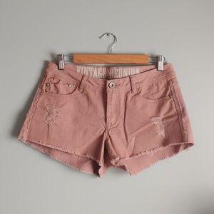ReWash vintage reunion mauve shorts